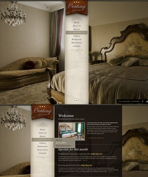 Hotel HTML5 template ID: 300111514