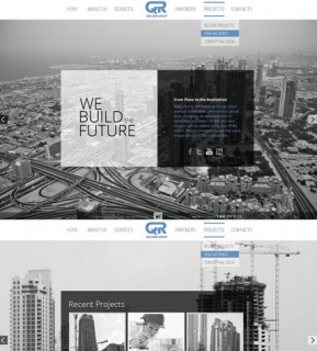 Building Company HTML5 template ID: 300111517