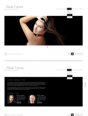 Real Faces HTML5 Gallery Admin ID: 300111518