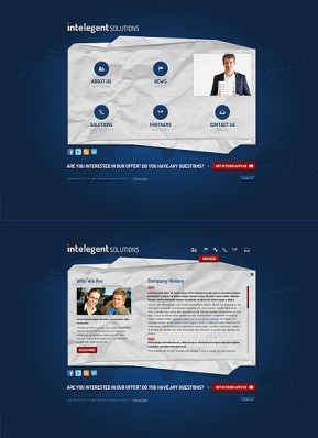 Business Solutions HTML5 template ID: 300111552