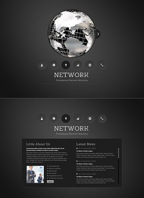 Network HTML5 template ID: 300111554