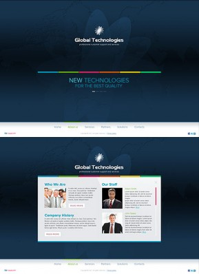 New Technology HTML5 template ID: 300111556