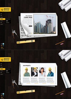 Architecture Design HTML5 template ID: 300111580