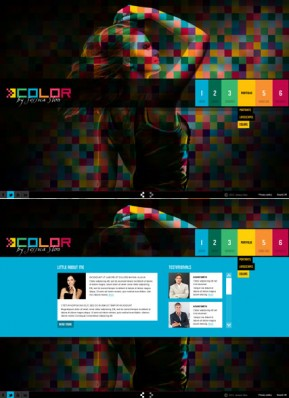 Color folio HTML5 Gallery Admin ID: 300111584