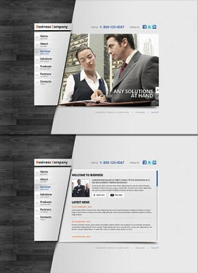 Business Area HTML5 template ID: 300111592