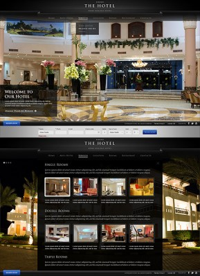 The Hotel HTML5 template ID: 300111609