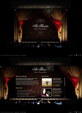 Theatre HTML5 template ID: 300111610