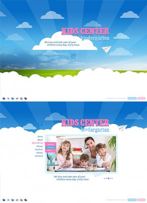 Kids Center HTML5 template ID: 300111620