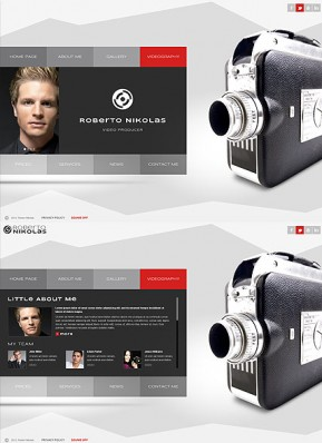 Video Producer HTML5 template ID: 300111634