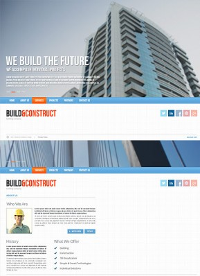 Build and construct HTML5 template ID: 300111636