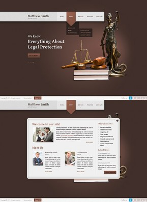 Lawyer HTML5 template ID: 300111642