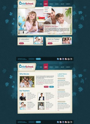 Child School HTML5 template ID: 300111644