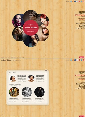 Circle design HTML5 Gallery Admin ID: 300111652