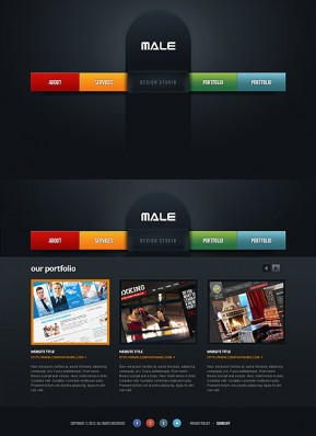 Web Design HTML5 template ID: 300111656