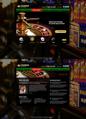Casino HTML5 template ID: 300111667