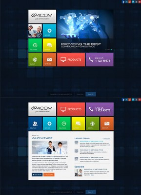 4 Communication HTML5 template ID: 300111672