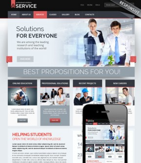 Professional solution v3.0 Joomla template ID: 300111685