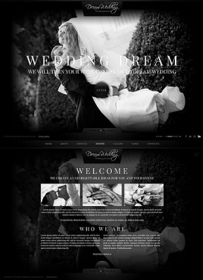 Wedding Planner HTML5 template ID: 300111709