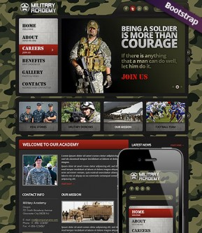 Military Bootstrap template ID: 300111716