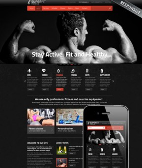 Fitness club v3 Joomla template ID: 300111724