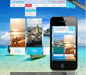 Travel v3 Joomla template ID: 300111729