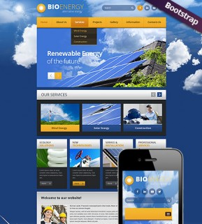 Bio Energy Bootstrap template ID: 300111769