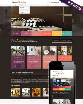 Home remodeling v3.0 Joomla template ID: 300111770