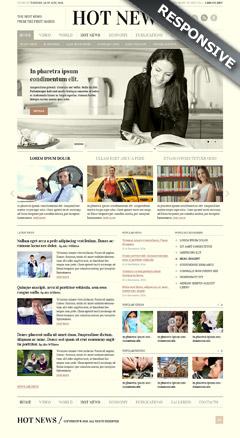 Newspaper templates, bootstrap website templates