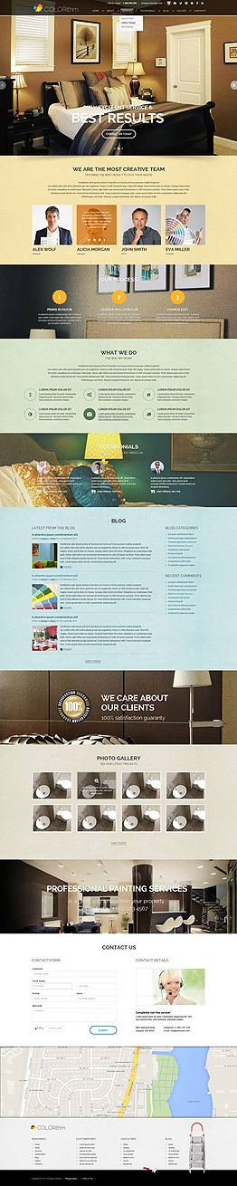 Painting Wordpress template ID: 300111839
