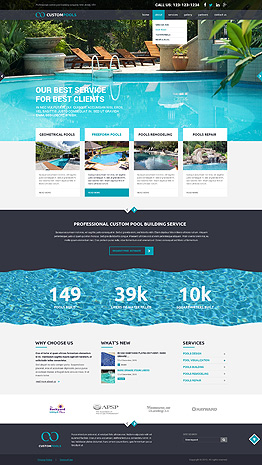 Custom Pools Bootstrap template ID: 300111846