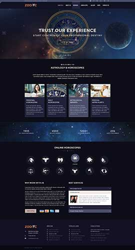 Zodiac Astrology v3.4 Joomla template ID: 300111893