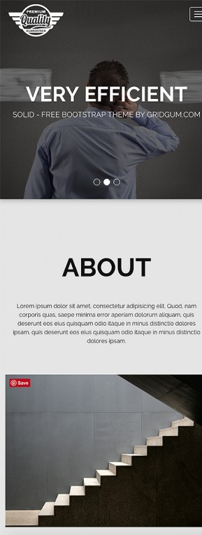 Solid - Free theme Free Bootstrap template ID: 34