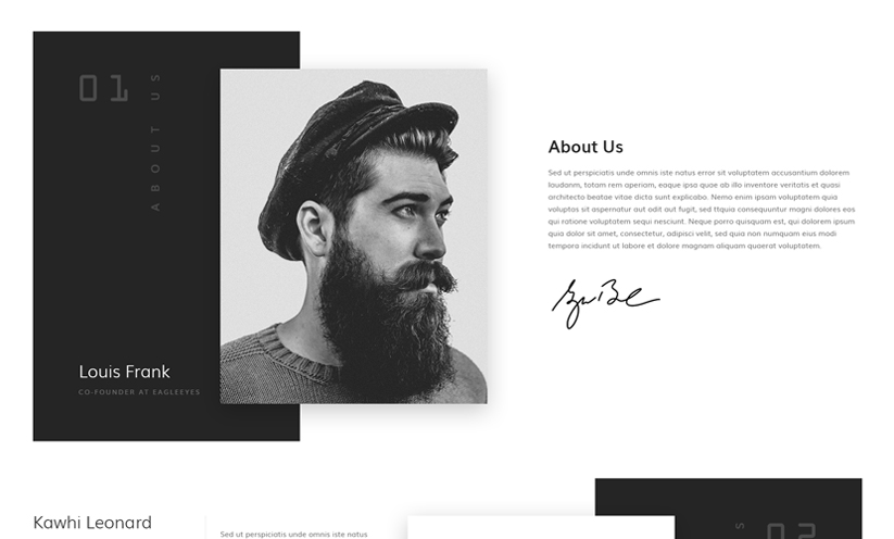 Creative studio Bootstrap template ID:300111929 Slide 1