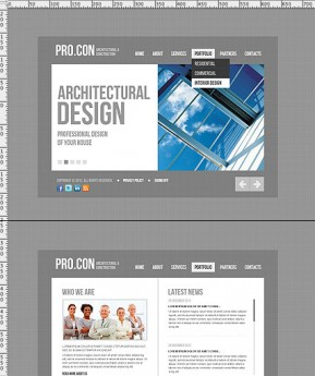 Architectural HTML5 template ID: 300111458