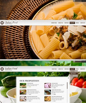 Restaurant HTML5 template ID: 300111463