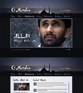 Mosque HTML5 template ID: 300111470