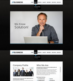 Business Company HTML5 template ID: 300111473