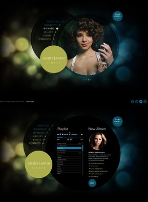 Singer HTML5 template ID: 300111476
