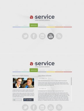 Alpha Service HTML5 template ID: 300111495