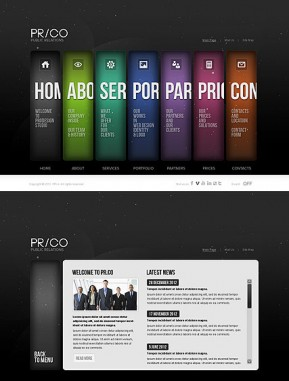 Public Relations HTML5 template ID: 300111496