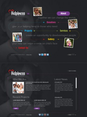 Charity HTML5 template ID: 300111501