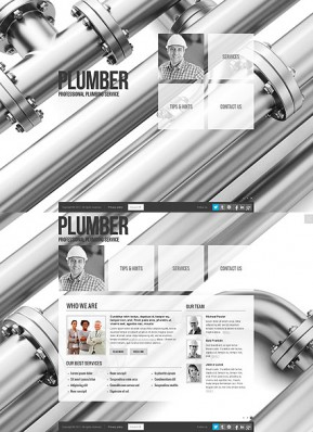 Plumber HTML5 template ID: 300111647