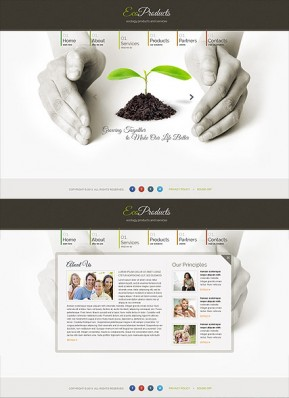 Ecology Products HTML5 template ID: 300111657