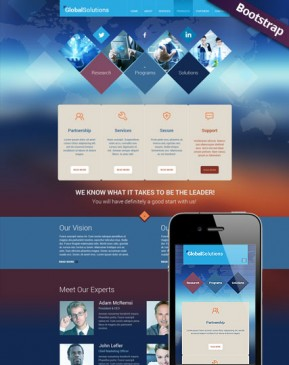 Global Solutions Bootstrap template ID: 300111743